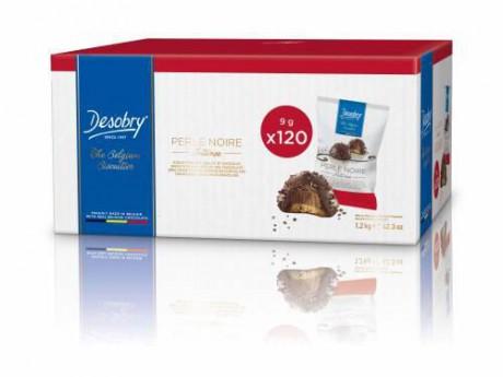 DESOBRY - FOOD Box Perle intese Chocolat noir 10g
