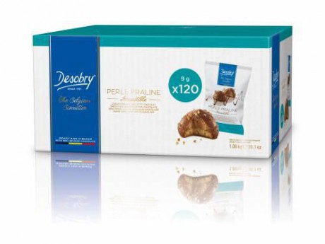 DESOBRY - FOOD Box Perle Praline Irresistible 9g