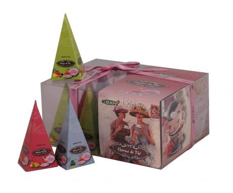 LIRAN - Pyramid Box - Charme de Thé