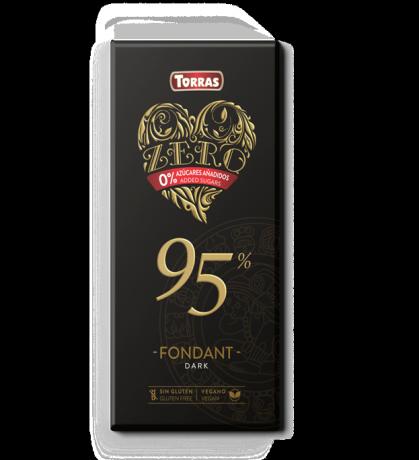 TORRAS ZERO Horká čokoláda 95%