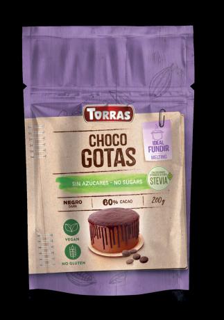 TORRAS Stévia Čokoládová poleva 60%