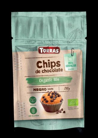 TORRAS Organic  - Bio čokoládový posyp 52%