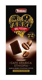TORRAS ZERO Horká čokoláda - káva