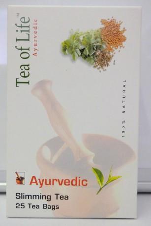 TEA OF LIFE - Ajurvédsky zelený čaj SLIMMING