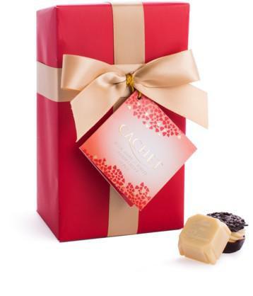 CACHET Ballotin RED pralinky v darčekovom balení