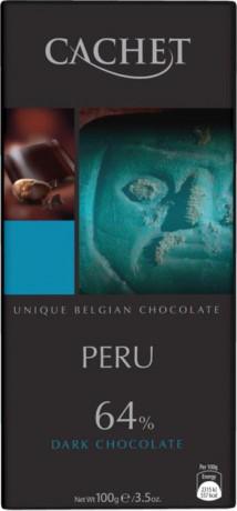 CACHET Horká čokoláda PERU 64%